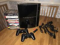 Sony PS3 Piano Black 60GB - Backwards Compatible PS2 & PS1