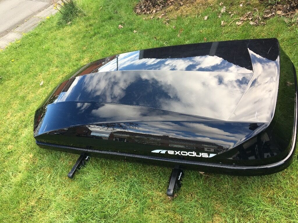 Exodus 470l Roof Box Gloss Black In Middlesbrough North