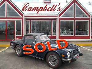 1975 Triumph TR6 TR6 FULL RESTORE FROM THE FRAME UP !!