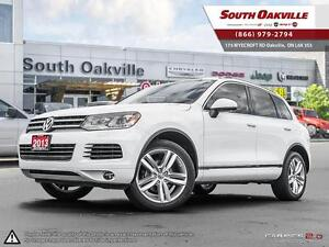 2013 Volkswagen Touareg Execline | DUAL SUNROOF | HEATED LEATHER