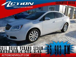2013 BUICK VERANO SEDAN AUTO,AIR,4 CYL