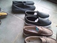 Mens casual slip on shoes.