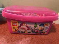 Box of mixed Lego for girls