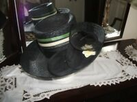 Hat / Black Straw Hat