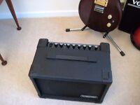 Traynor 100w amplifier,A&B inputs,headphone skt,overdrive,reverb,foot switch input.
