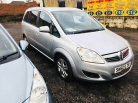 Vauxhall Zafira energy 1.6 2010 reg 7 seater petrol finance available px welcome excellent condition