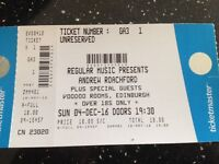 2 Tickets for Roachford in the Voodoo Rooms, Edinburgh. Sunday 4th December