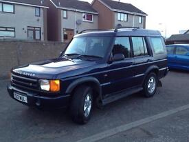 **now sold**Landrover Discovery 2 TD5