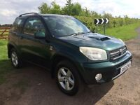 Toyota RAV4 2.0 D-4D XT3 3dr, 53 PLATE, full 12 months mot, £2,495