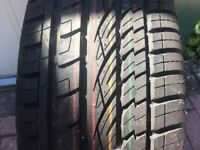 Continental Cross Contact 225 55 R 17 Tyre. Hardly used