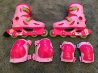 Roller blades (girls) as new