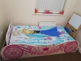 SOLD!!!!!!! Princess carriage single Bed Frame ONLY