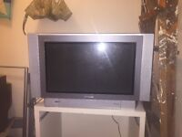 "Free working TV! 26"" Panasonic, with stand."