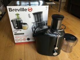 BREVILLE PROFESSIONAL 1000w WHOLE FRUIT JUICER - VERY GOOD CONDITION