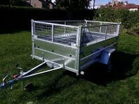 New car trailer 7.7x4.1 and mesch - £ 780 inc vat