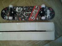 'Bored' skateboard