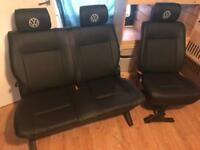 Vw t4 t5 transporter rear seats SWAP FOR R&R Bed