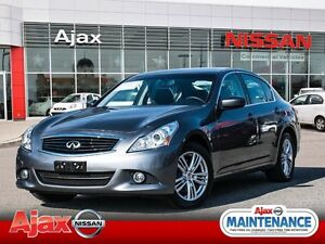 2013 Infiniti G37X Luxury Sports Sedan*Low kms*One Owner