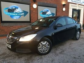 VAUXHALL INSIGNIA 2.0 CDTi 16v S Hatchback 5dr Diesel Manual (128 bhp) (black) 2009