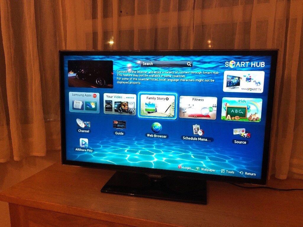 "Samsung 32"" Full hd smart led tv.ETHERNET CONNECTION.Excellent ..."