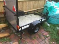 Quad/mower trailer