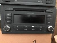 Audi concert double din cd radio used £40