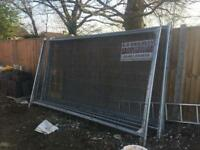 Used Heras Fencing