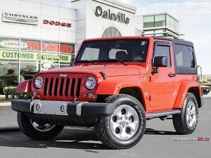 2015 Jeep Wrangler SAHARA | ONE OWNER | NAVIGATION |