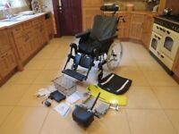 Invacare Rea Azalea Power Tilt & Recline Wheelchair Medium Frame