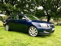 2007 TOYOTA AVENSIS 2.2LTR DIESEL 5 DOOR*FULL MAIN DEALER SERVICE HISTORY*NEW MOT**