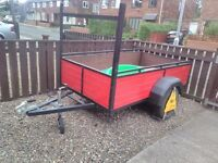 7 by 4ft Good strong trailer