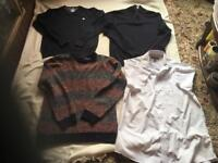 Men's bundle 3 jumper 1 shirt used good condition size M £6