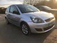 2006 06 REG FORD FIESTA 1.25 STYLE CLIMATE,MOT OCTOBER,ONLY 57k MILES,JUST SERVICED,FSH