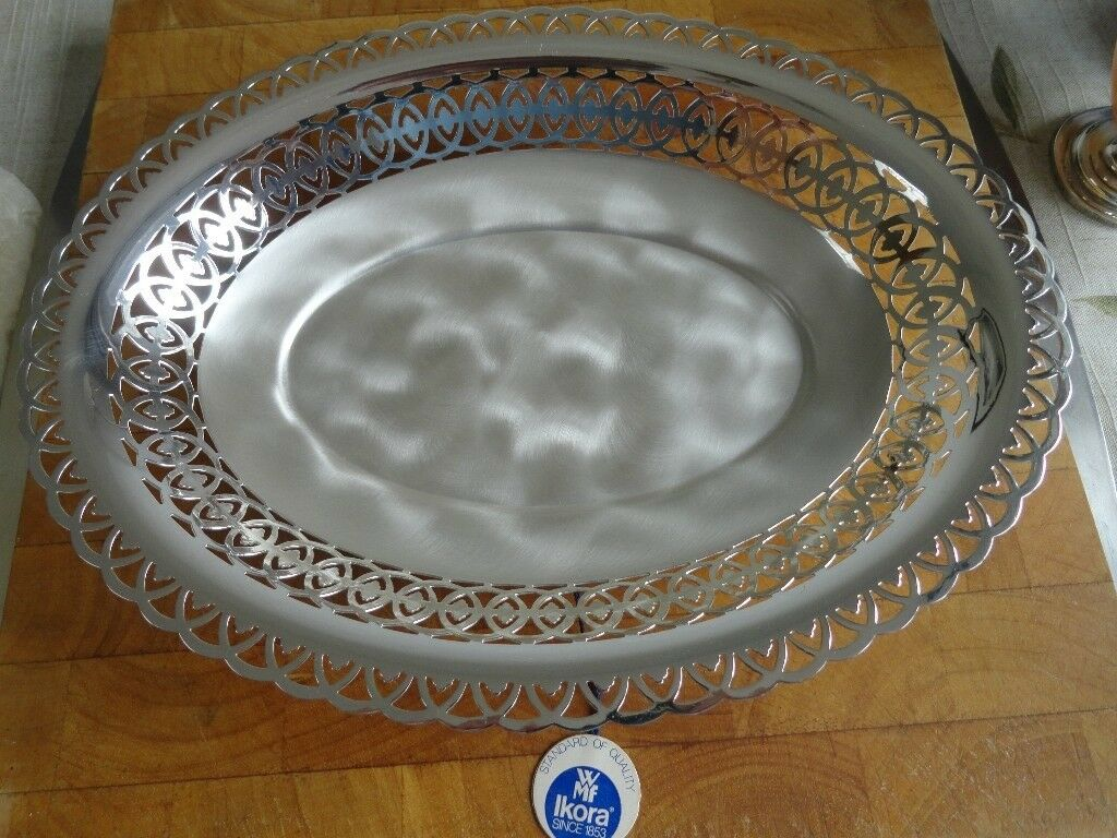 "WMF Ikora German Silver plated 11"" tray"