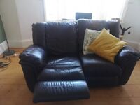 Reclining Sofa. Free with collection