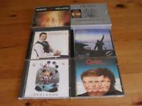 queen 6 cd albums