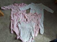 Some unworn - Baby girl 3-6 months unicorn & fairies clothes