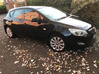 Vauxhall Astra 2010 face lift