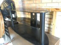 GLASS TV. STAND USED £12.00