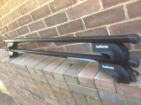 Roof bars for roof rails