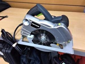 Scie circulaire 7 1/4'' 11A guidage laser Pro-Pulse + ***Parfaite Condition*** #P027825