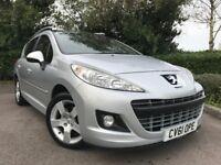 2011 (61) Peugeot 207 SW 1.6 VTi 120 Allure 43,000 MILES ESTATE 1 OWNER PEUGEOT SERVICE HISTORY