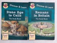 CGP books History years 3-4 UK school home studying