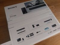 New unopened - Sony HT-CT390 Bluetooth 2.1 Sound Bar with Wireless Subwoofer * NEW *
