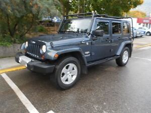 2008 Jeep WRANGLER UNLIMITED Sahara Dual tops AC Roof rack