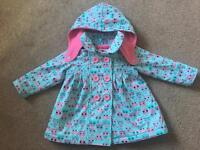 Lily & Lola Girls Coat 6-12 Months