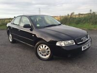 AUDI A4 1.9TDI 90K GENUINE MILES IN BLACK IN EXCELLENT CONDITION YOU WILL NOT FIND A BETTER ONE