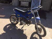 90cc semi automatic motorbike READ