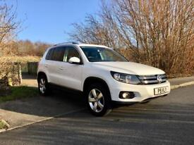 VW Tiguan Escape 2.0 TDi DSG (top spec & new shape) low miles