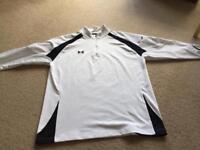 Men's Under Armour Golf Top - White - XL